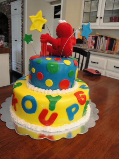 Elmo 1st Birthday Cake Cakes By Nathalie
