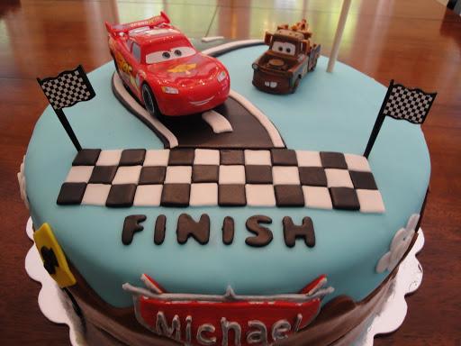Disney Cars Birthday Cake: Cakes By Nathalie