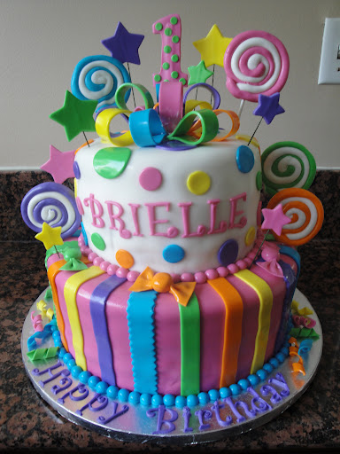 How To Make A Candyland Birthday Cake