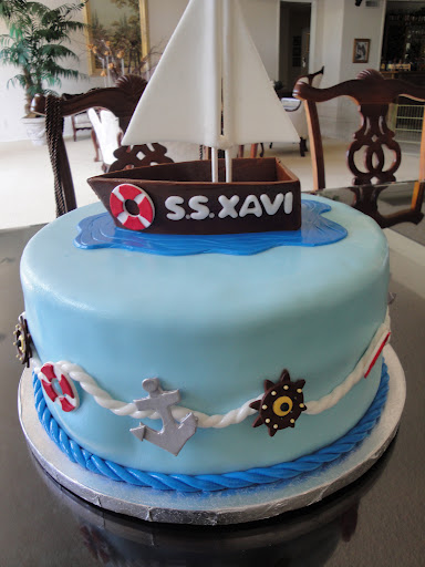 Sailor Baby Shower Cake Cakes By Nathalie