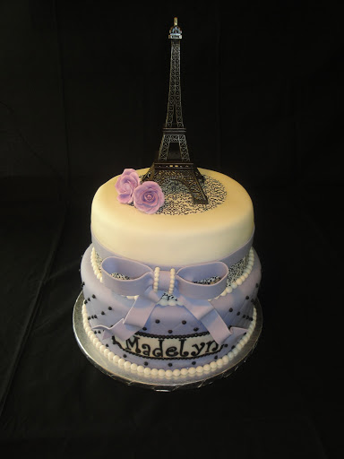 paris themed baby shower cakes