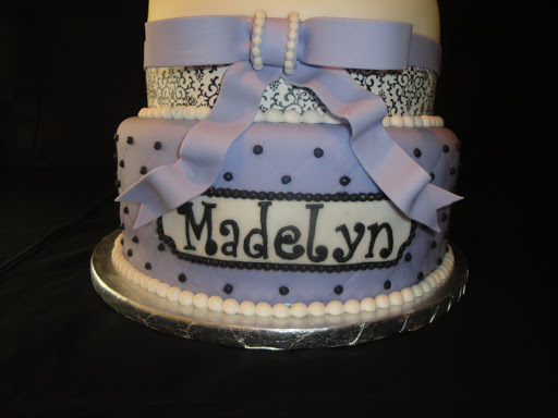 lavender paris themed baby shower cake cakes by nathalie